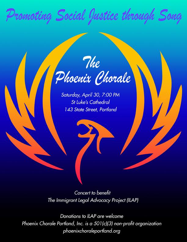 ILAP Concert Poster